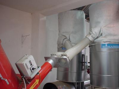 BIOMASSER 2DUO-SET wydajność* 160-200 kg/h