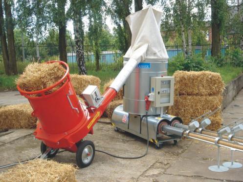 BIOMASSER DUO-SET wydajność* 80-100 kg/h