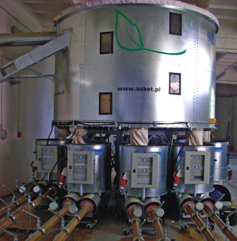 BIOMASSER MAXI-MULTI wydajność* 500-1000 kg/h