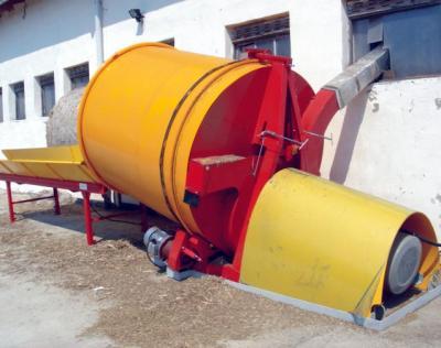 Rozdrabniacz balotów słomy z napędem elektrycznym wydajność* do 2000 kg/h