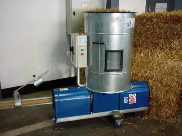BIOMASSER SOLO wydajność* 40-50 kg/h