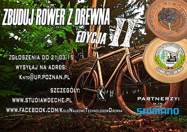 ROWER Z DREWNA - rusza druga edycja konkursu