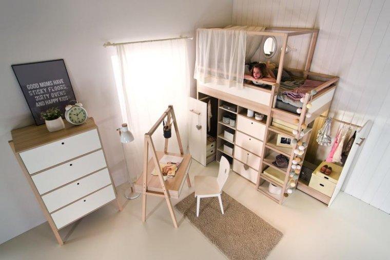 Łóżko piętrowe Spot by VOX