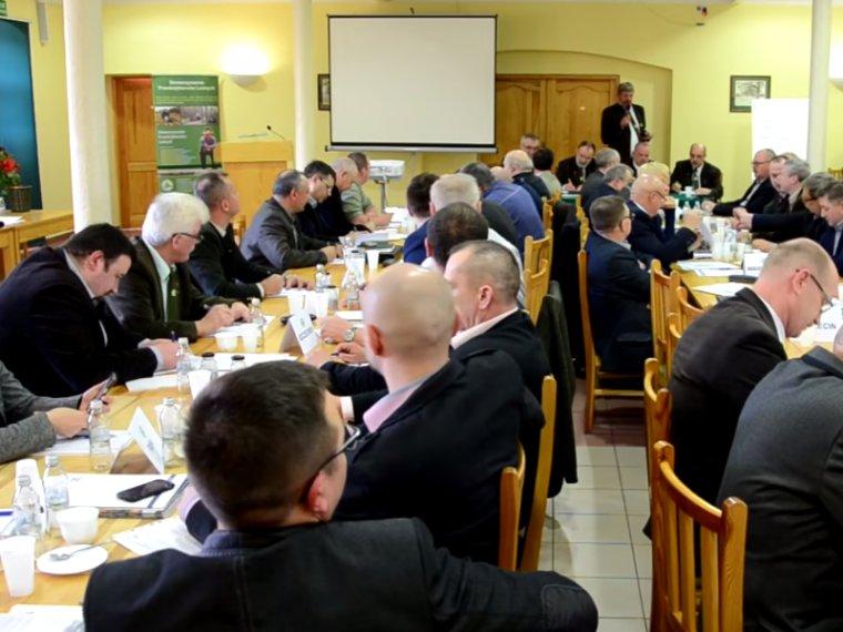 Walne zgromadzenie  SPL w Gołuchowie