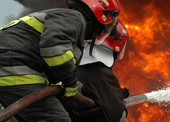 Pożar w fabryce mebli Zabroccy