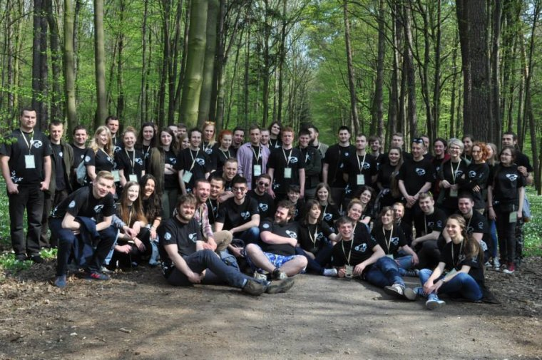 Uczestnicy VIII Ogólnopolska Konferencja Studentów Leśnictwa