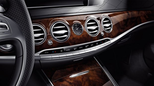 Mercedes S-CLASS S63 AMG wykończenie z czeczoty orzecha włoskiego