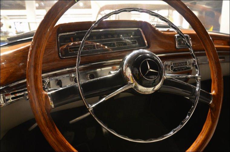 Wnętrze Mercedesa