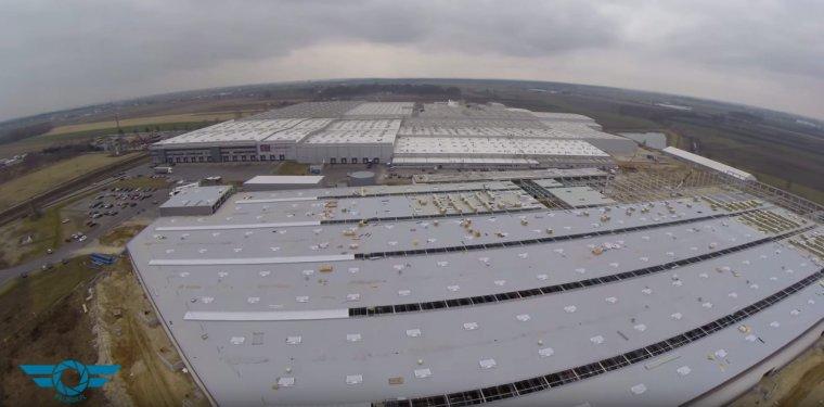 Rozbudowa zakładu w Ociążu