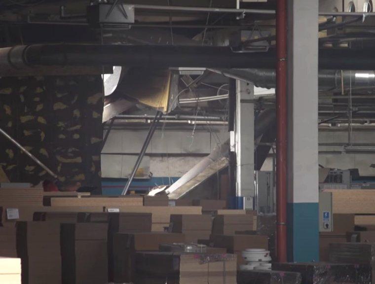 Katastrofa budowlana w fabryce należącej do Forte