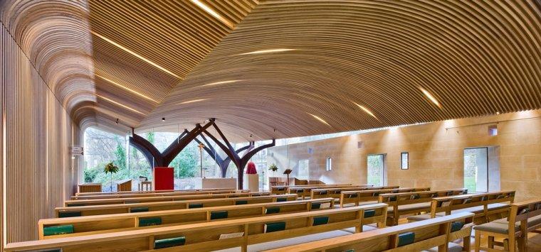 Kaplica Alberta Wielkiego przy Uniwersytecie Edynburskim (Wielka Brytania)
