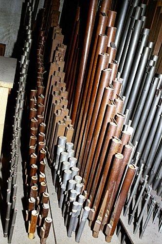Toczone z drewna bukowego piszczałki głosu flauto traverso