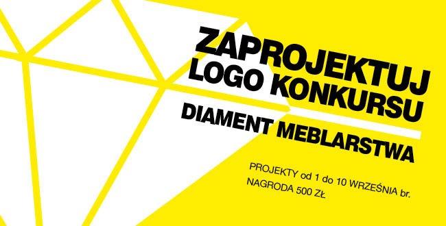 "Zaprojektuj nowe LOGO Konkursu ""Diament Meblarstwa""!"