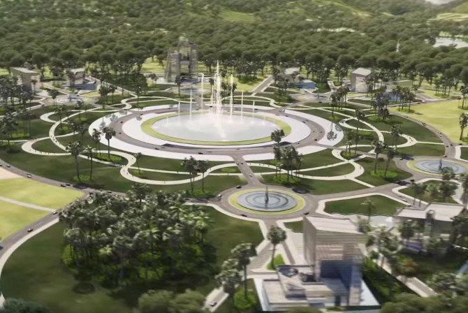 Wizualizacja centrum Oyala