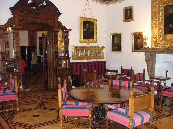Salon w zamku kórnickim