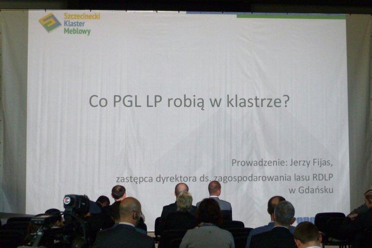 O udziale w klastrze Lasów Państwowych mówił Jerzy Fijas z RDLP Gdańsk