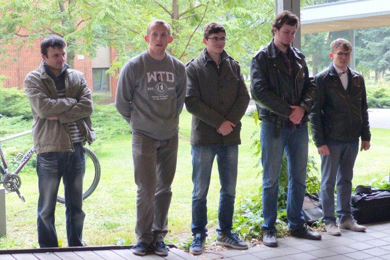 Uczestnicy drugiej edycji konkursu Zbuduj Rower z Drewna