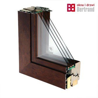 Okno drewniano-aluminiowe Ultratherm Ultima