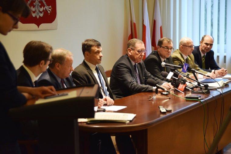 Konferencja prasowa ministra środowiska