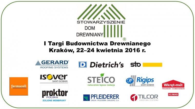 I Targi Budownictwa Drewnianego DREW-DOM odbędą się w kwietniu w Krakowie