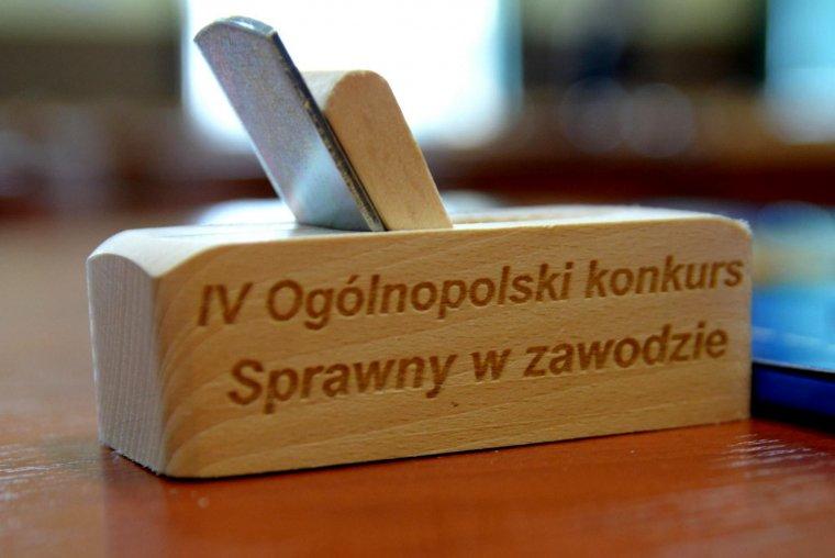 IV Ogólnopolski Konkurs Sprawny w Zawodzie - Stolarz i Technik Technologii Drewna
