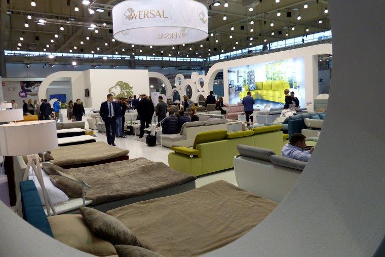 Stoisko firmy Wersal - producenta mebli tapicerowanych