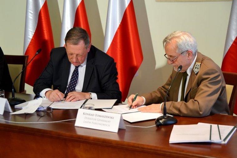 Program działań na rzecz Puszczy Białowieskiej podpisany
