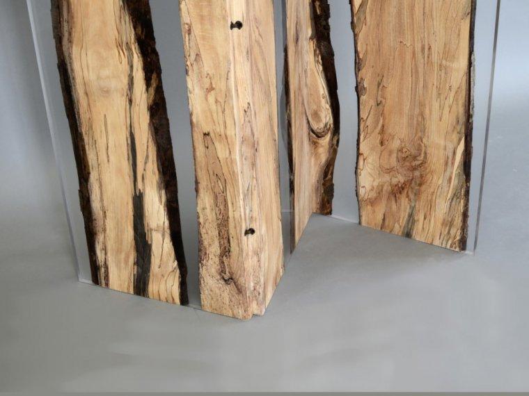 Parawan z kolekcji Fungi, drewno bukowe