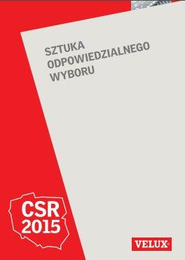Raport CSR firmy Velux za rok 2015