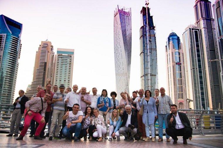 Uczestnicy misji branżowej w Dubaju