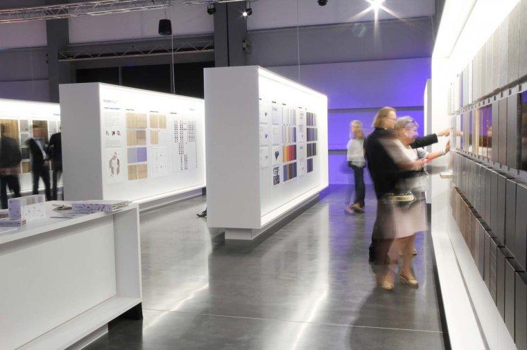 Ekspozycja w Kronospan Design Center