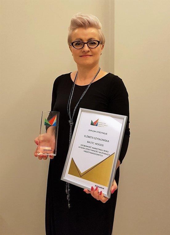 Elżbieta Szydłowska otrzymała główną nagrodę w konkursie Dyrektor Marketingu Roku 2015