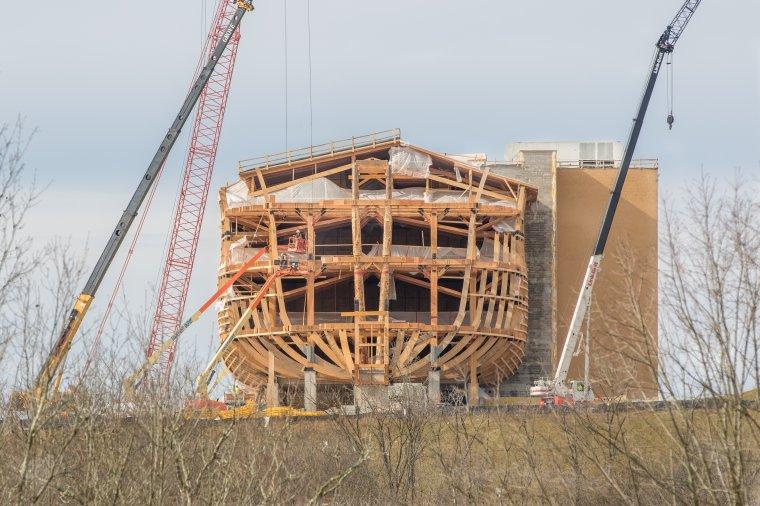Szkielet drewniany Arki