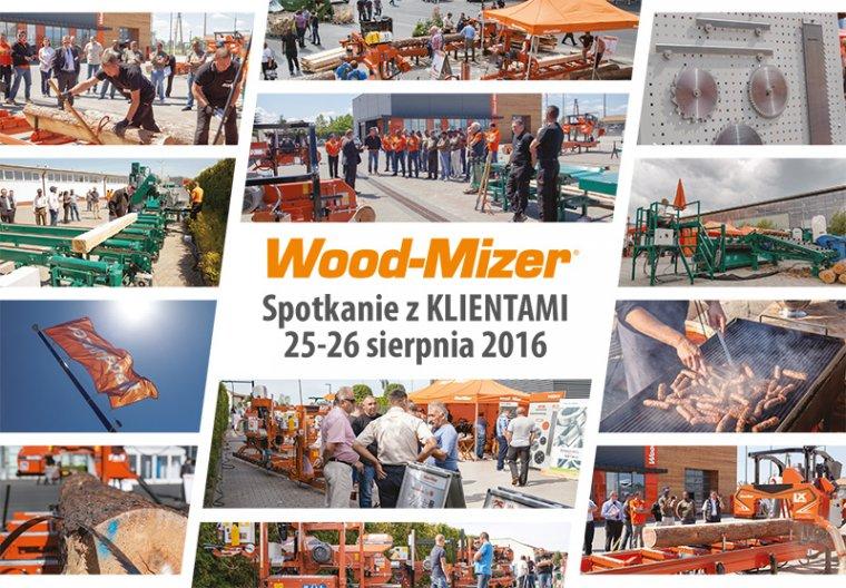 Wood-Mizer: Spotkanie z klientami 25-26 sierpnia 2016