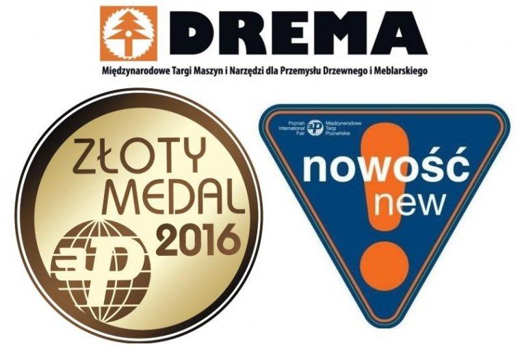 Złote Medale MTP i nowości na targach DREMA 2016