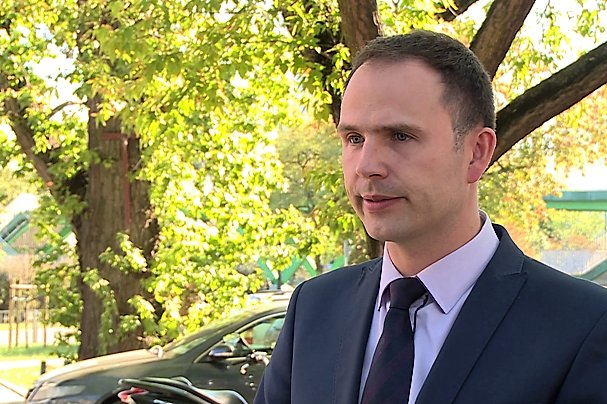 Grzegorz Sadowski, dyrektor handlowy w Jawor-Parkiet