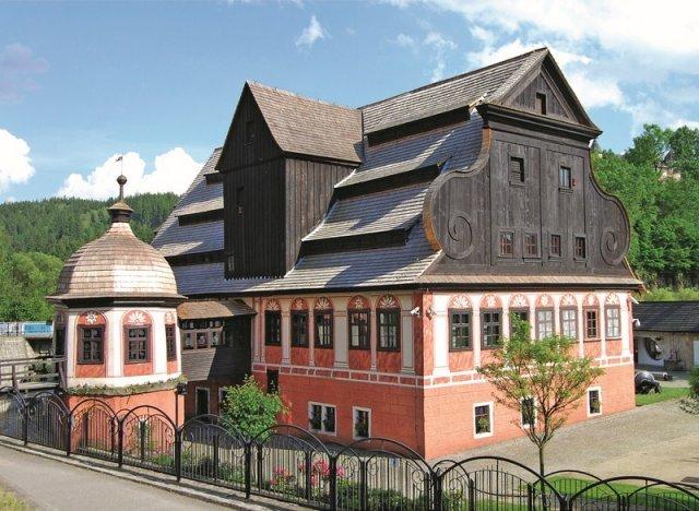 Zabytkowa papiernia w Dusznikach-Zdroju
