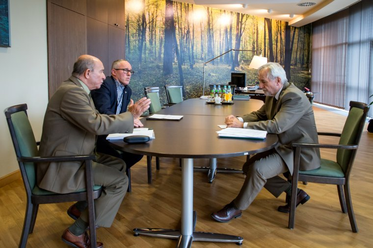 Spotkanie w sprawie projektu Rzetelne Przedsiębiorstwo Leśne
