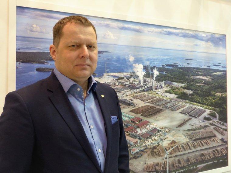 Arkadiusz Gronowski, prezes Södra Polska