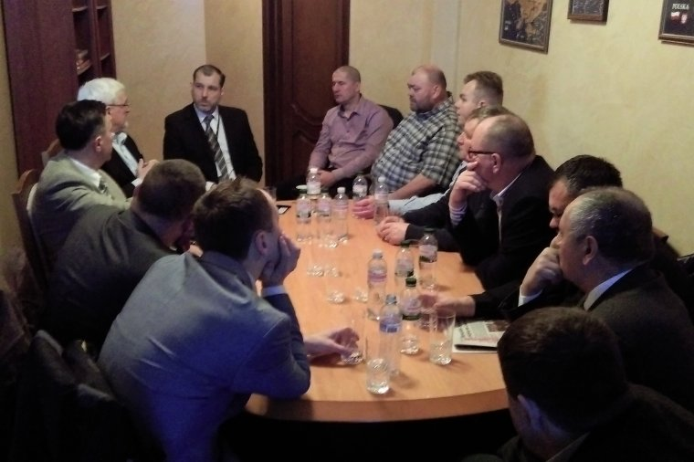 Spotkanie w Konsulacie Generalnym RP w Łucku