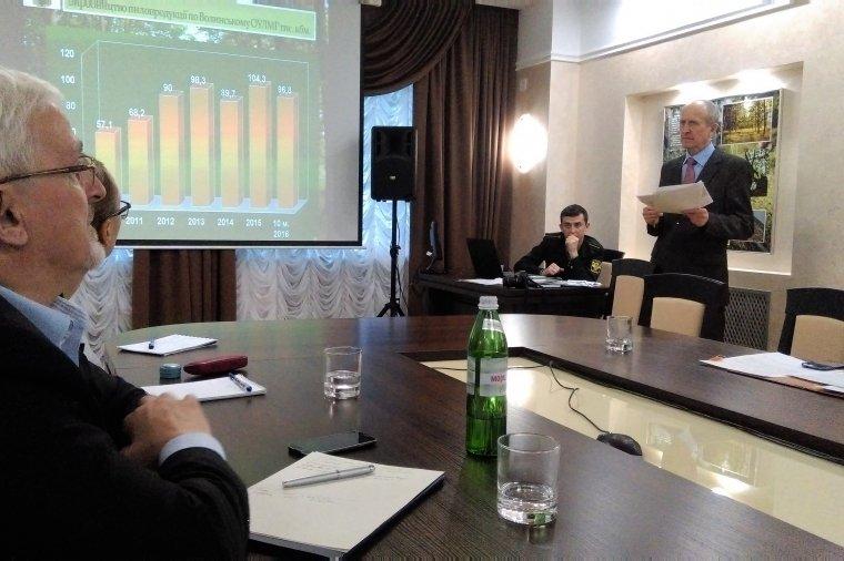 Aleksander Kwatyrko, dyrektor Wołyńskiej Regionalnej Dyrekcji Lasów Państwowych