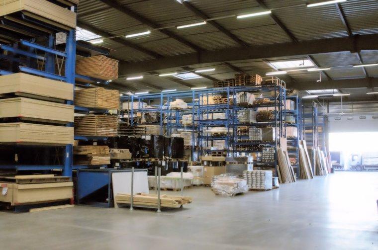Systemy regałowe na materiały drewniane OHRA