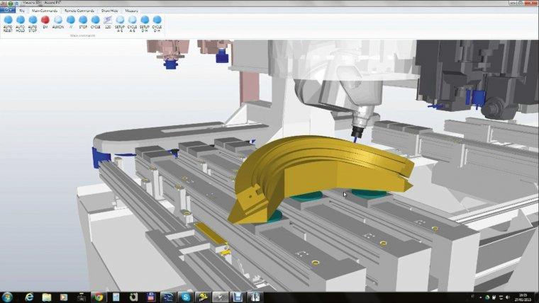 Łatwe i intuicyjne oprogramowanie Xilog Maestro umożliwia symulacje obróbki.