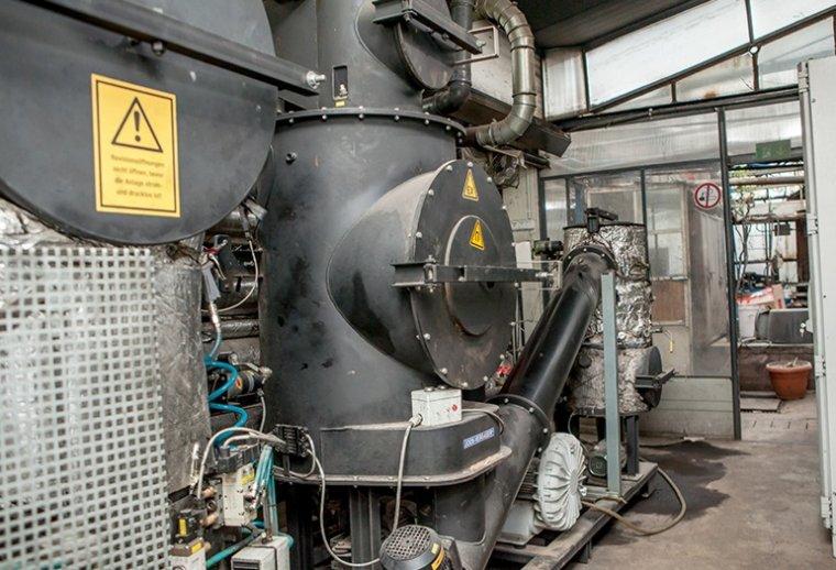 Jedną z wielu inwestycji w tartaku był na przykład zakup prądnicy elektrycznej z Niemiec.