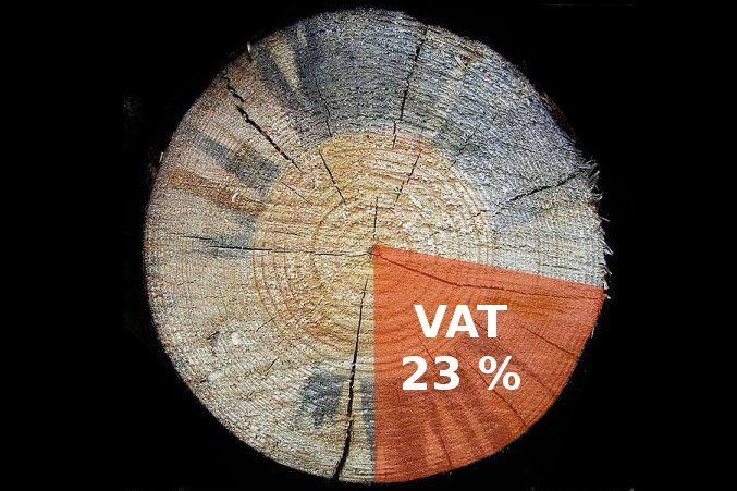 Wyłudzenia VAT dotyczą również branży drzewnej