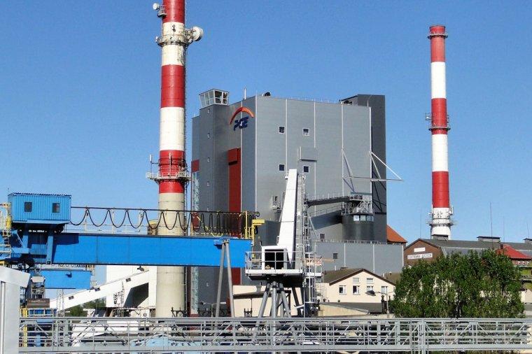 Kocioł biomasowy Elektrowni Szczecin