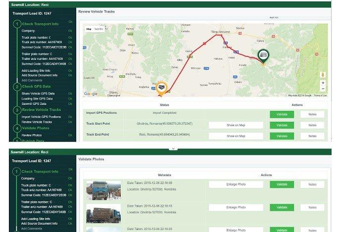 Schweighofer planuje uruchomić system on-line śledzący dostawy drewna w Rumunii.