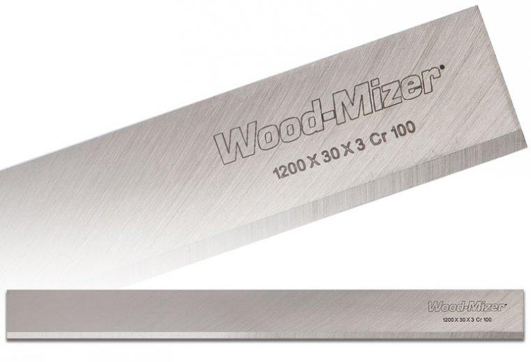 Wood-Mizer - noże do strugarek, noże ryflowane oraz noże z nakładkami z węglików spiekanych