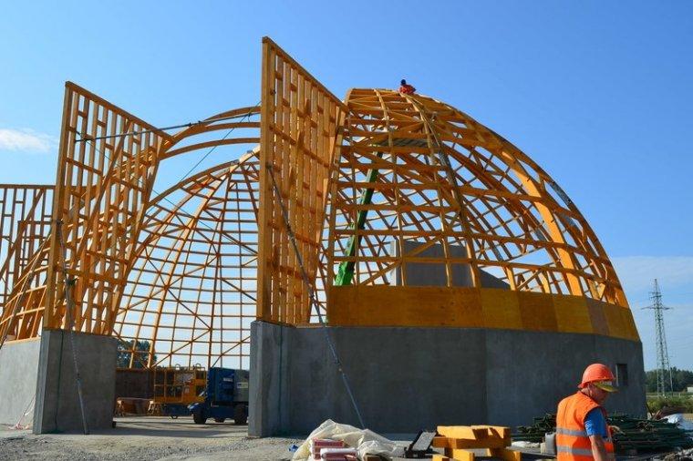 Fabryka Konstrukcji Drewnianych ma kolejne zlecenie na budowę magazynu soli