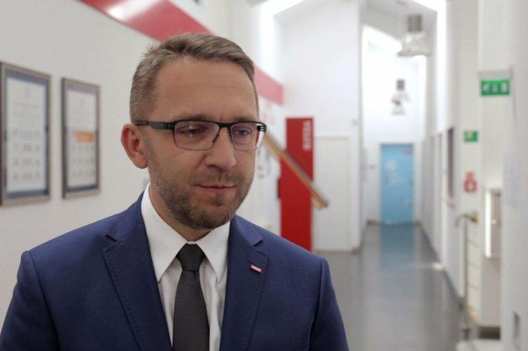 Robert Purol, dyrektor fabryki okuć VELUX w Gnieźnie